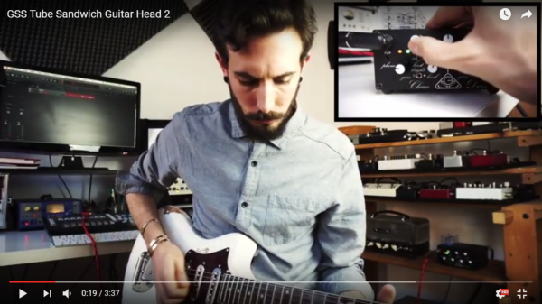 New test video for GSS' Tube Sandwich guitar head